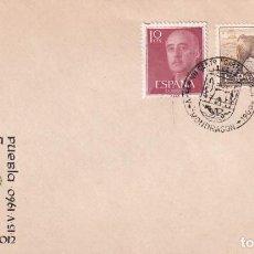 Sellos: CONCESION CARTA PUEBLA VII CENTEN MONDRAGON GUIPUZCOA 1960 MATASELLOS SOBRE SIN CIRCULAR ARRONIZ MPM. Lote 246321715