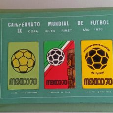 Sellos: ÁLBUM FUTBOL MEXICO 70. Lote 248467270