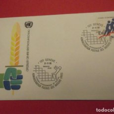 Sellos: SOBRE PRIMER DÍA 1980 NACIONES UNIDAS. Lote 252582755