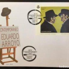 Sellos: 2018 ESPAÑA EDIFIL 5209 ARTE CONTEMPORÁNEO - EDUARDO ARROYO - SPD. Lote 252683200