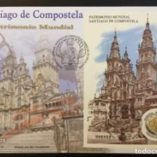 Sellos: 2018 ESPAÑA EDIFIL 5210 PATRIMONIO MUNDIAL - SANTIAGO DE COMPOSTELA - SPD. Lote 252683785