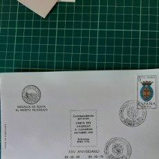 Selos: 1975 ANIVERSARIO VUSITA CAUDILLO A CANARIAS MATASELLO SANTA CRUZ TENERIFE 24 MEDALLA PLATA MERITO. Lote 252947470