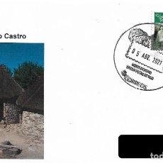 Sellos: ESPAÑA. MATASELLOS ESPECIAL. MONTE O CASTRO. VIGO 2021. Lote 253730605