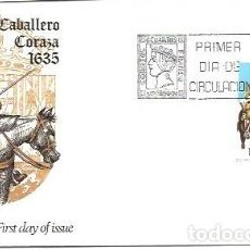 Sellos: SOBRE PRIMER DIA ALFIL EDIFIL 2169 UNIFORMES MILITARES 5 ENE 1974 CORACERO DE CABALLERIA. Lote 253976655