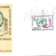 Sellos: NACIONES UNIDAS. SPD. BARCELONA 1970. Lote 254062435