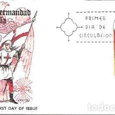 Sellos: SOBRE PRIMER DIA EDIFIL 2139 UNIFORMES MILITARES 17 JUL 1973 SANTA HERMANDAD DE CASTILLA 1488. Lote 254114950