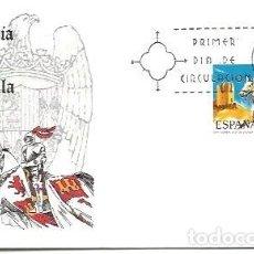 Sellos: SOBRE PRIMER DIA EDIFIL 2140 UNIFORMES MILITARES 17 JUL 1973 GUARDIA VIEJA DE CASTILLA 1493. Lote 254115020