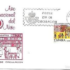 Sellos: AÑO INTERNACIONAL DEL NIÑO. SPD. BARCELONA 1979. Lote 254420645