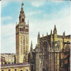 Sellos: CATEDRAL DE SEVILLA.TARJETA MAXIMA. MADRID 1965. Lote 255518495
