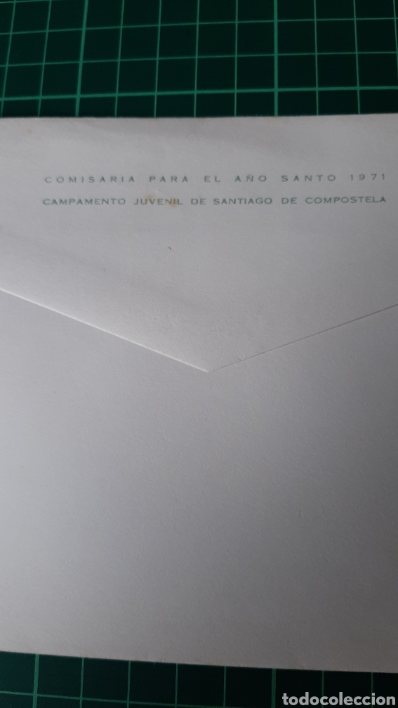 Sellos: EL CAMINO DE SANTIAGO ABRE 1971 MATASELLO SANTIAGO DE COMPOSTELA GALICIA ESPAÑA - Foto 2 - 257388570