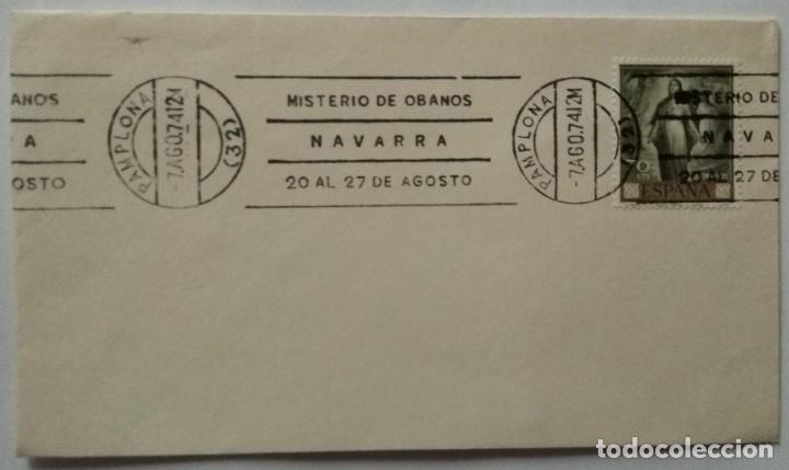 Sellos: LOTE 2 con 23 Sobres varios tamaños con distinto matasello, sello y motivo, Ruta Jacobea - Foto 18 - 259876760