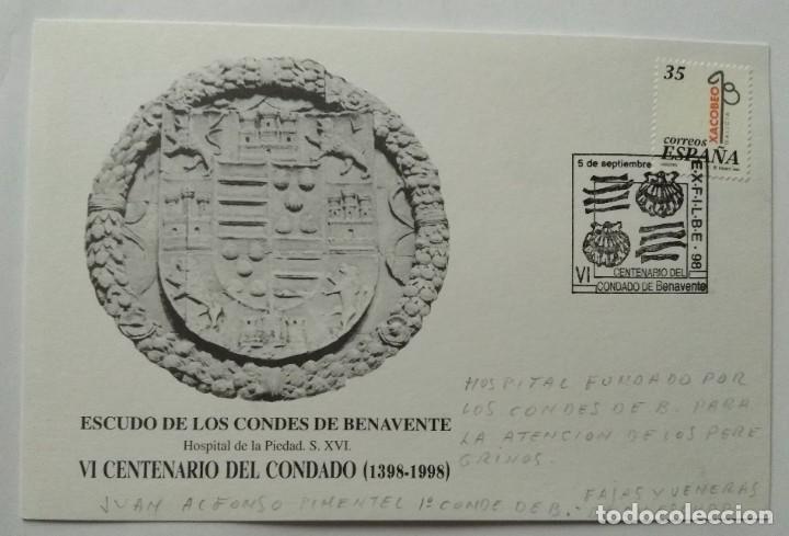 Sellos: LOTE 2 con 22 Sobres varios tamaños con distinto matasello, sello y motivo, Ruta Jacobea - Foto 24 - 259878380