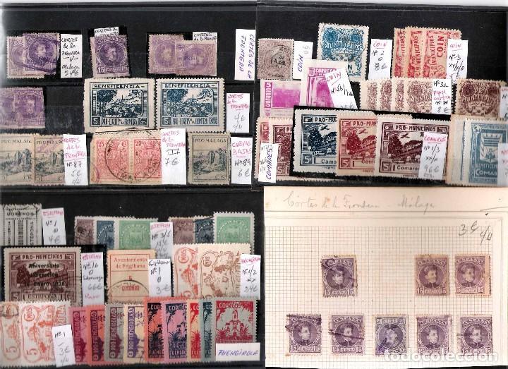 Sellos: MALAGA Y PROV.- H. POSTAL, MATASELLOS Y E. LOCALES. P.V. 9.117 €. VER CONDICIONES Y 22 FOTOS MAS. - Foto 7 - 31733886