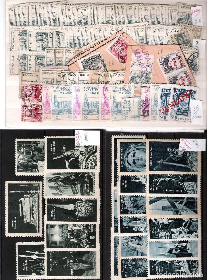 Sellos: MALAGA Y PROV.- H. POSTAL, MATASELLOS Y E. LOCALES. P.V. 9.117 €. VER CONDICIONES Y 22 FOTOS MAS. - Foto 15 - 31733886