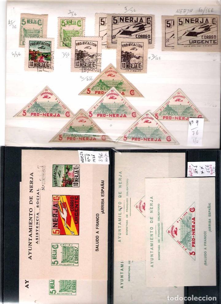 Sellos: MALAGA Y PROV.- H. POSTAL, MATASELLOS Y E. LOCALES. P.V. 9.117 €. VER CONDICIONES Y 22 FOTOS MAS. - Foto 17 - 31733886
