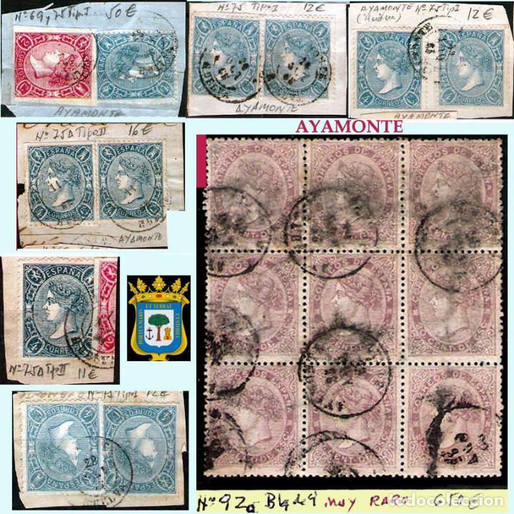 Sellos: HUELVA Y PROV.- HIST. POSTAL, MATASELLOS Y E. LOCALES. P.V. 8.111 € VER 15 FOTOS MAS Y CONDICIONES. - Foto 2 - 31807724