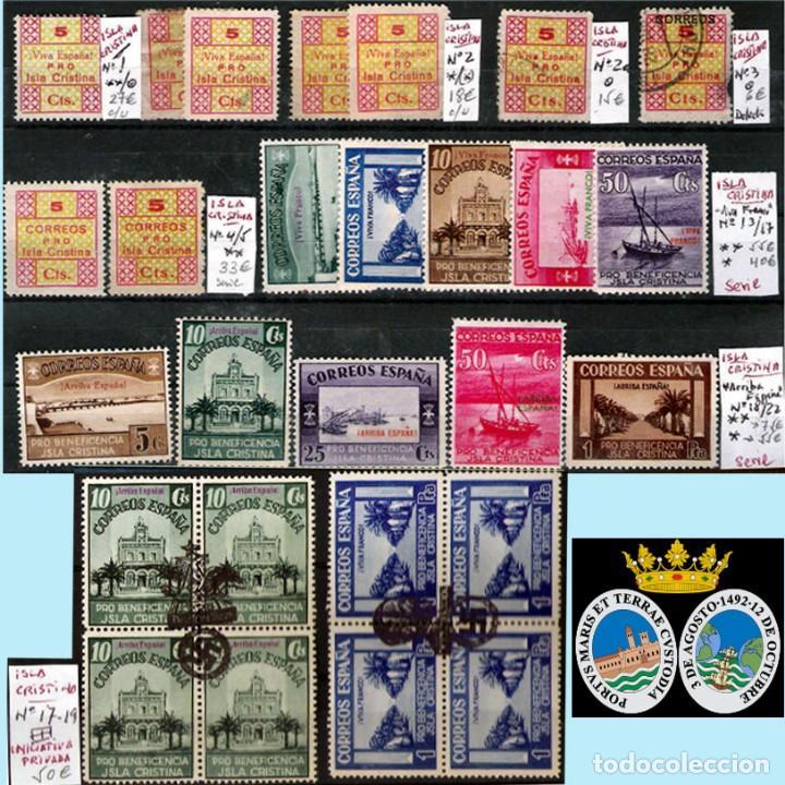 Sellos: HUELVA Y PROV.- HIST. POSTAL, MATASELLOS Y E. LOCALES. P.V. 8.111 € VER 15 FOTOS MAS Y CONDICIONES. - Foto 10 - 31807724