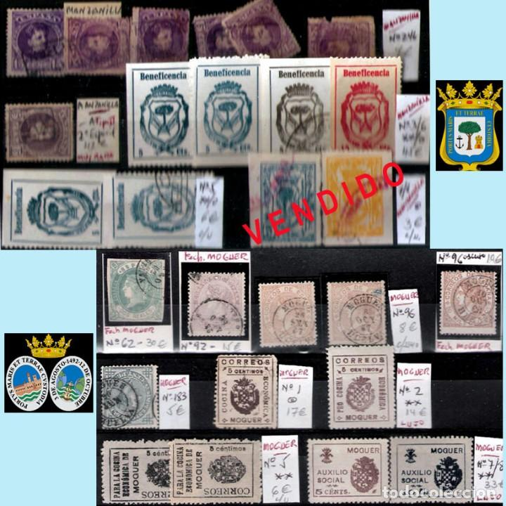 Sellos: HUELVA Y PROV.- HIST. POSTAL, MATASELLOS Y E. LOCALES. P.V. 8.111 € VER 15 FOTOS MAS Y CONDICIONES. - Foto 11 - 31807724