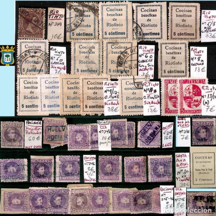 Sellos: HUELVA Y PROV.- HIST. POSTAL, MATASELLOS Y E. LOCALES. P.V. 8.111 € VER 15 FOTOS MAS Y CONDICIONES. - Foto 14 - 31807724