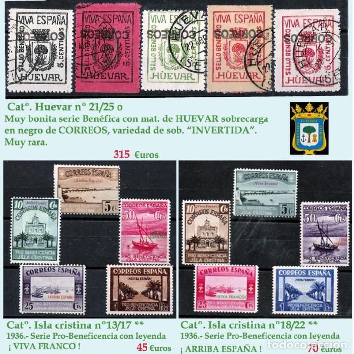 Sellos: HUELVA Y PROV.- HIST. POSTAL, MATASELLOS Y E. LOCALES. P.V. 8.111 € VER 15 FOTOS MAS Y CONDICIONES. - Foto 16 - 31807724