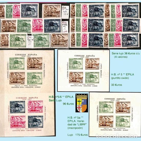 Sellos: ZARAGOZA Y PROV.- H. POSTAL, MATASELLOS Y E. LOCALES. P.V. 9.067 €. VER 18 FOTOS MAS Y CONDICIONES. - Foto 5 - 31898538