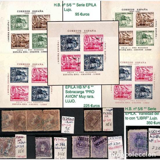 Sellos: ZARAGOZA Y PROV.- H. POSTAL, MATASELLOS Y E. LOCALES. P.V. 9.067 €. VER 18 FOTOS MAS Y CONDICIONES. - Foto 6 - 31898538