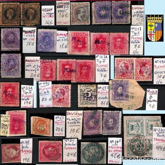 Sellos: ZARAGOZA Y PROV.- H. POSTAL, MATASELLOS Y E. LOCALES. P.V. 9.067 €. VER 18 FOTOS MAS Y CONDICIONES. - Foto 7 - 31898538