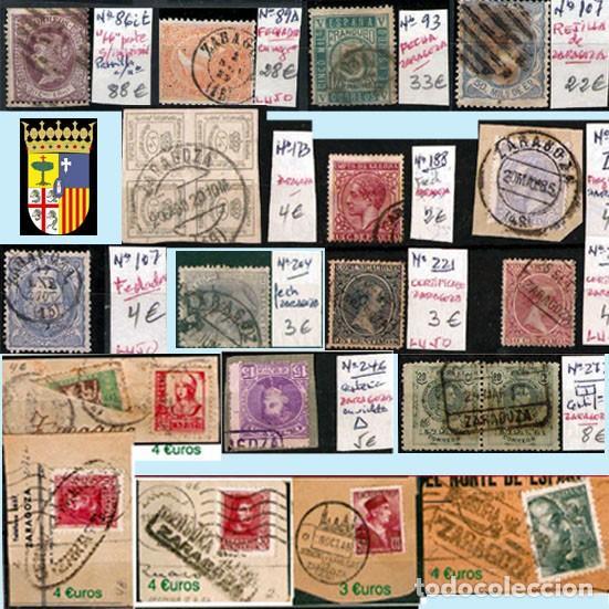 Sellos: ZARAGOZA Y PROV.- H. POSTAL, MATASELLOS Y E. LOCALES. P.V. 9.067 €. VER 18 FOTOS MAS Y CONDICIONES. - Foto 9 - 31898538
