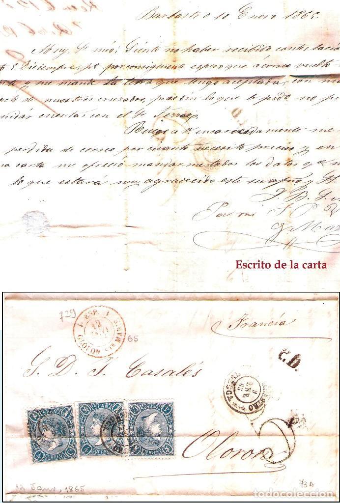 Sellos: HUESCA Y PROV.- H. POSTAL, MAT., CARTAS, E. LOCALES y T.P. P.V. 2.830 €. VER 7 FOTOS - CONDICIONES. - Foto 13 - 31701232