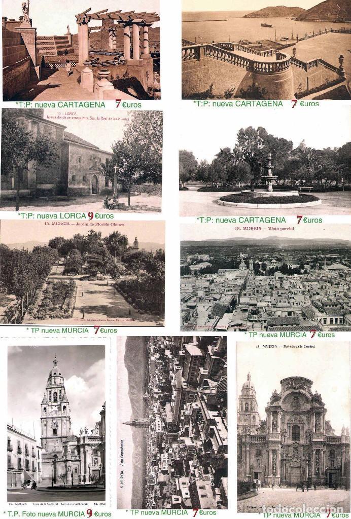 Sellos: MURCIA Y PROV.- H. POSTAL, MAT., E. LOCALES, CARTAS - T.P. P.V. 2.571 €.VER 11 PLANCHAS -CONDICIONES - Foto 11 - 31774716