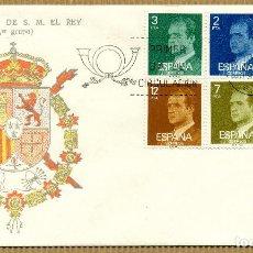 Sellos: SOBRE PRIMER DIA 1976 (SPD) SERIE BASICA REY - EDIFIL: 2344 / 49. Lote 261582145