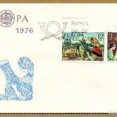 Sellos: SOBRE PRIMER DIA 1976 (SPD) EUROPA - EDIFIL: 2316 / 17. Lote 261582525