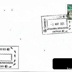 Sellos: ESPAÑA. MATASELLOS ESPECIAL. CAMINO DE SANTIAGO. PONTEVEDRA. 2021. Lote 262251510
