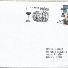 Sellos: C CON MAT PRIMER DIA MADRID TURISMO ENOLOGICO VINO WINE ENOLOGIA TONEL. Lote 262264560