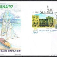 Francobolli: [CF1408] ESPAÑA 1997. FDC HB EXFILNA 97 (NS). Lote 266610463
