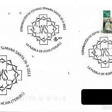 Sellos: ESPAÑA. MATASELLOS ESPECIAL. SEMANA SANTA. LA PUEBLA DE HIJAR (TERUEL). 2021. Lote 267754369