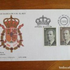 Sellos: LOTE SOBRES DE PRIMER DÍA, SERIE REY JUAN CARLOS 1996. Lote 268047929