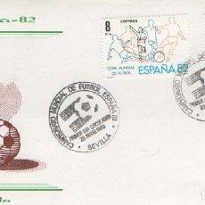 Sellos: SOBRE PRIMER DÍA CAMPEONATO MUNDIAL DE FÚTBOL. ESPAÑA 82. 1980. SEVILLA. SOBRE-311. Lote 269138178