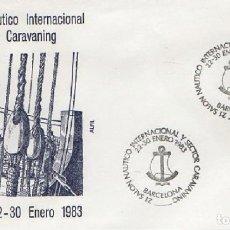 Sellos: SOBRE XXI SALÓN NÁUTICO INTERNACIONAL Y SECTOR CARAVANING 1983. BARCELONA SOBRE-317. Lote 269147058