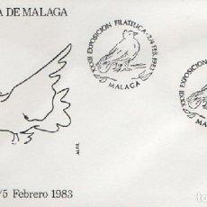 Sellos: SOBRE XXXII EXPOSICIÓN FILATÉLICA DE MÁLAGA 1983. MÁLAGA SOBRE-321. Lote 269149293