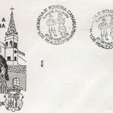Sellos: SOBRE HOMENAJE A LA ROMERÍA CANARIA 1983. TENERIFE. SOBRE-329. Lote 269207883