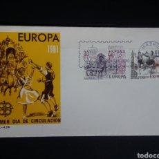Sellos: SPD. EUROPA CEPT. 1981. EDIFIL 2615/16. MADRID.. Lote 270242078