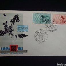 Sellos: SPD. EUROPA CEPT. 1962. EDIFIL 1448/49. MADRID.. Lote 270242293