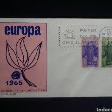 Sellos: SPD. EUROPA CEPT. 1965. EDIFIL 1675/76. MADRID.. Lote 270242483