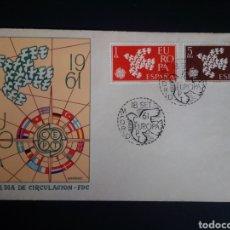 Sellos: SPD. EUROPA CEPT. 1961. EDIFIL 1371/72. MADRID.. Lote 270243113