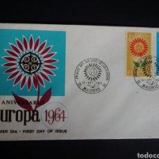 Sellos: SPD. EUROPA CEPT. 1964. EDIFIL 1613/14. MADRID. Lote 270243518