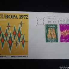 Sellos: SPD. EUROPA CEPT. 1972. EDIFIL 2090/91. BARCELONA.. Lote 270243728