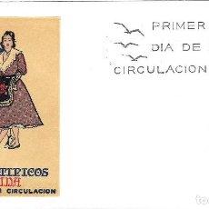 Sellos: TRAJE DE LERIDA TRAJES TIPICOS ESPAÑOLES 1969 (EDIFIL 1901) EN SOBRE PRIMER DIA SERVICIO FILATELICO.. Lote 270378473