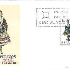 Sellos: TRAJE DE CIUDAD REAL TRAJES TIPICOS ESPAÑOLES 1968 (EDIFIL 1839) EN SPD DEL SERVICIO FILATELICO.. Lote 270393243