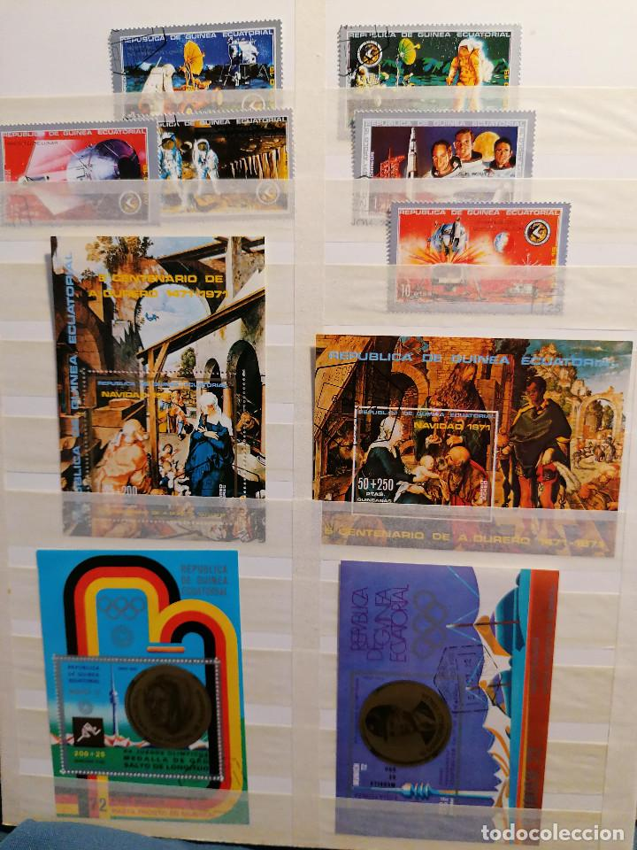 Sellos: GUINEA ECUATORIAL lote sellos Resto Coleccion Gran Coleccion muy completa Clasificador usado/ Nuevo - Foto 4 - 271384923